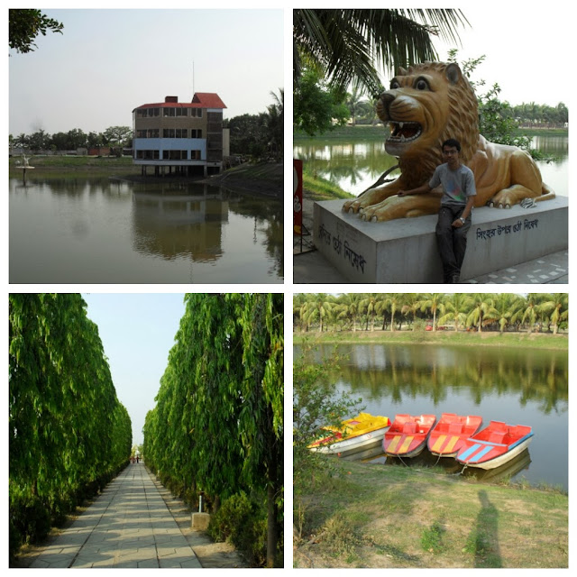 Lake, Paddle-Boat, Walking-Track-and-Resort