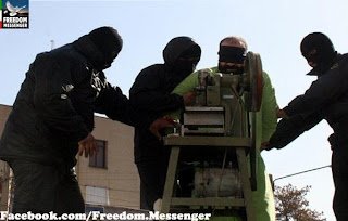 Medieval punishments: Judicial amputation in Iran (file photo)