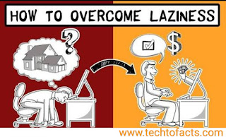 how to avoid laziness and become successful