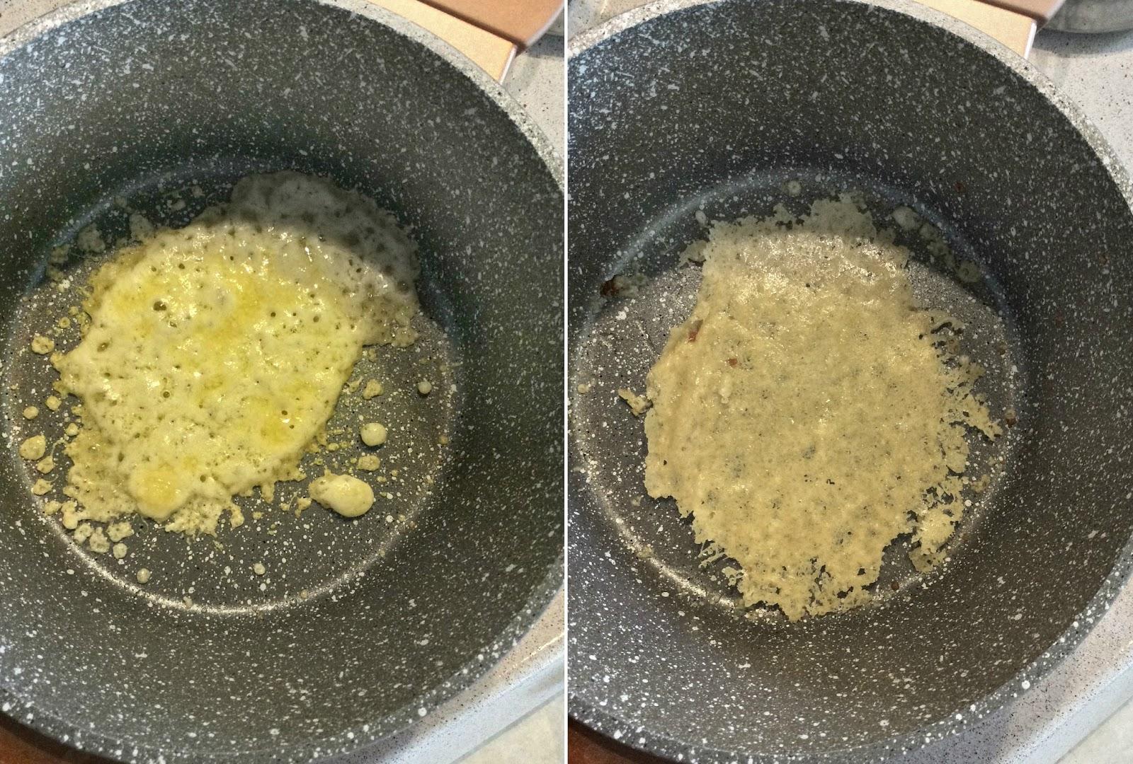 come si fanno le cialde di parmigiano reggiano