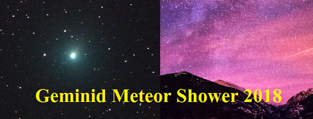 Geminid Meteor Shower 2018 | geminids, geminid meteor shower in hindi, meteor shower india,