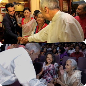Ranil who shook hands with Jehan on day Vaishnavi was screened ... reminds about dance with Iranganie