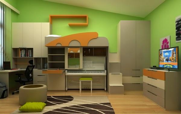 Ideas de habitaciones juveniles funcionales dormitorios for Habitaciones juveniles funcionales