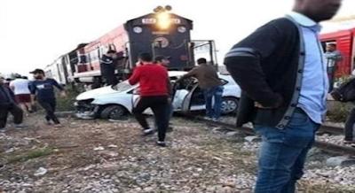فاجعة في صفاقس/ اوفاة 3 أطفال من نفس العائلة في صطدام قطار بسيارة