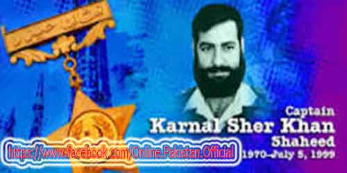captain karnal sher kahn