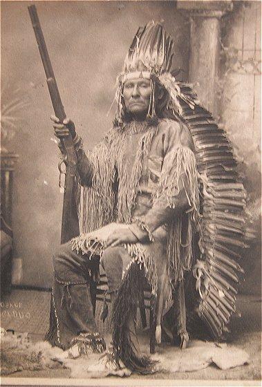 Chief Black Dog Osage