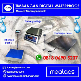 Timbangan Waterproof, Timbangan Anti Air