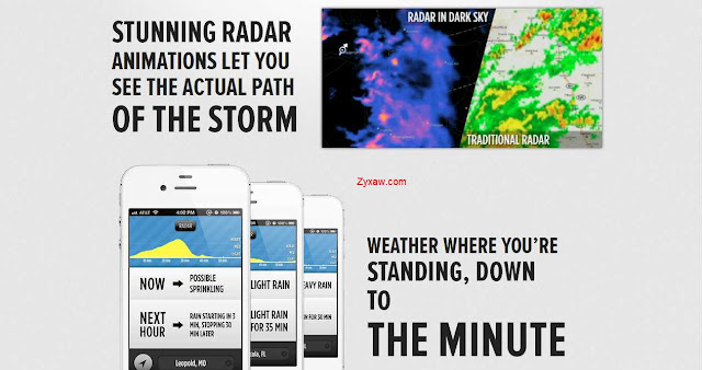 GPS based iOS Weather App, provides real-time, accurate forecast
