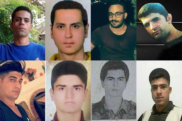 مقتل محتجين ايرانيين تحت التعذيب