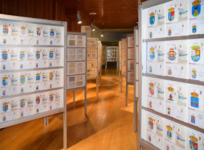 Exposición filatélica de los Humanitarios de San Martínde Moreda.