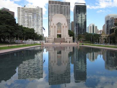Anzac Memorial y Hide Park. Sydney