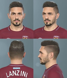 PES 2019 Faces Manuel Lanzini by Messi Pradeep