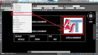 cara memasukan logo icon di Autocad