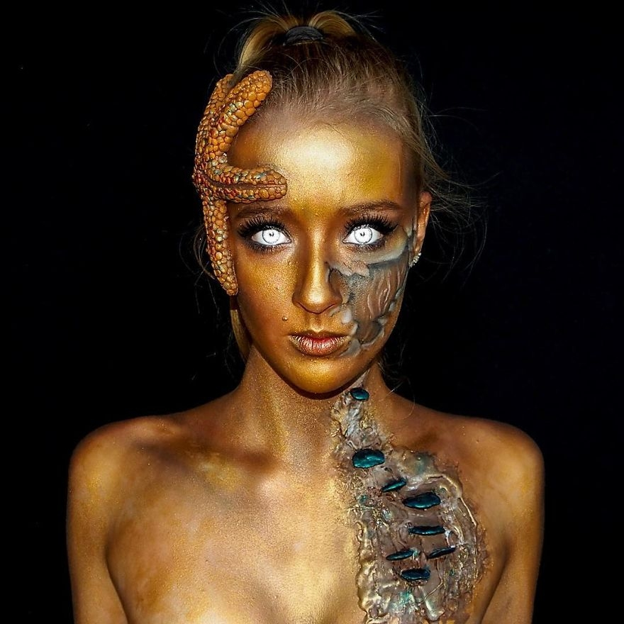 03-Lara-Wirth-Armageddon-Painted-Turning-into-Monsters-with-Body-Painting-www-designstack-co