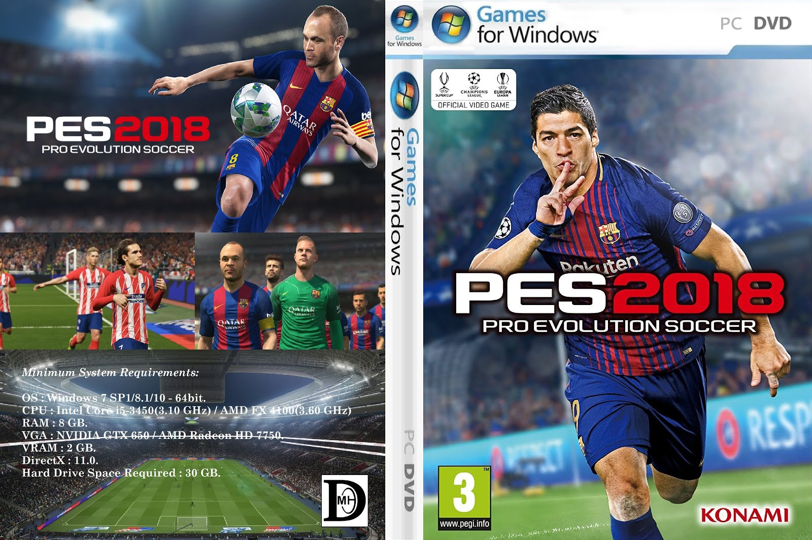Download game pes 2018 full version pc | Download PES 2018 Free Full