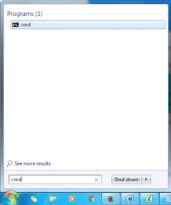 Agar CMD di Windows 7 Jadi Terlihat Transparan