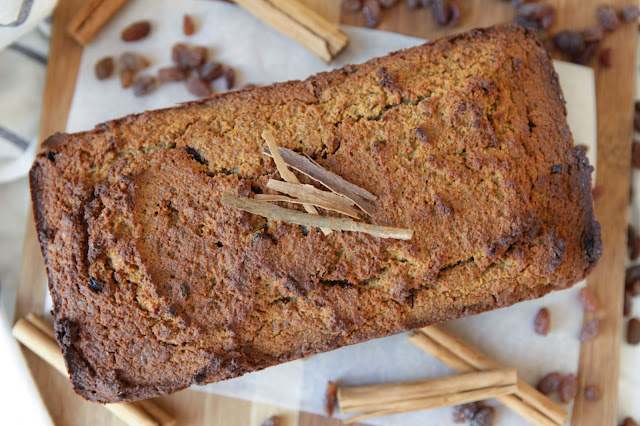 Raisin Bread (Dairy Free, Nut Free and Grain Free)