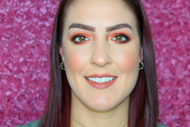 Tutorial: Fall Inspired Makeup Look