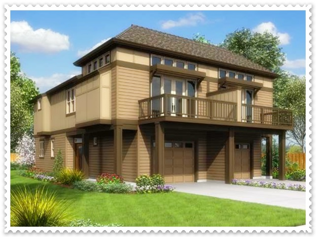 gambar model rumah sederhana di kampung tapi kelihatan mewah
