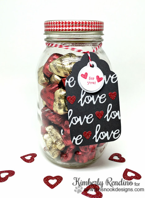 valentine gift | candy jar | handmade | tag |  newton's nook designs | kimpletekreativity.blogspot.com