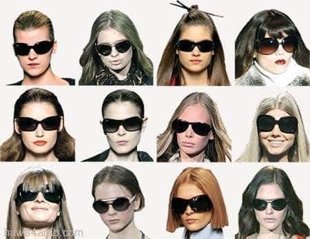 09e1bb6f7 كيف تختارين النظارة الشمسية المناسبة لشكل وجهك؟