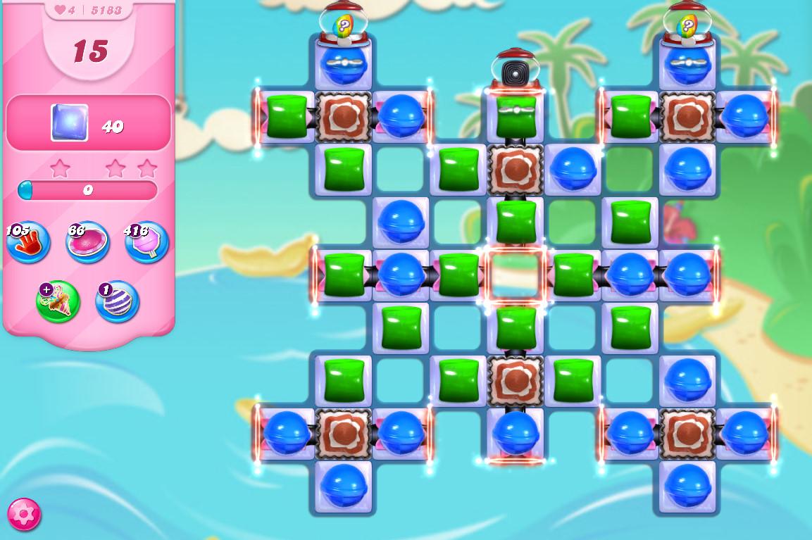Candy Crush Saga level 5183