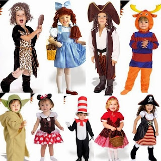 Toddlers Halloween Day Costumes Ideas