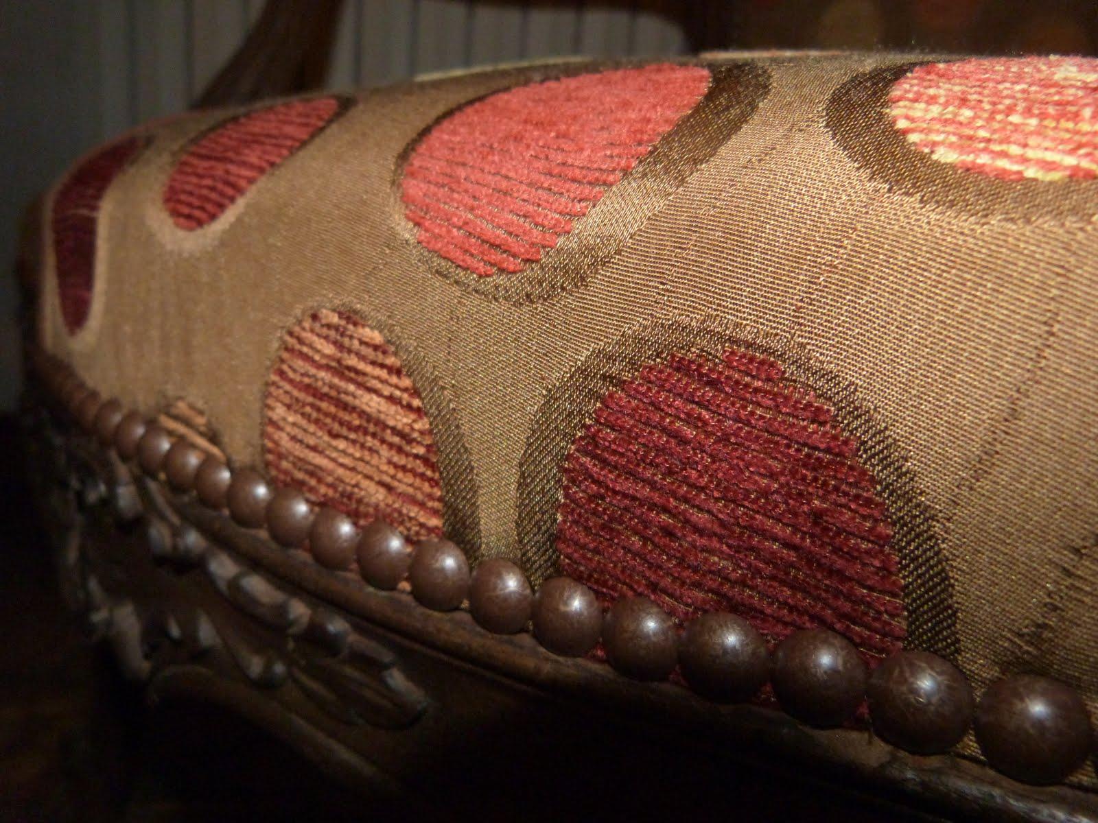 58 cabriolets louis xv tissu toiles de mayenne les jolis si ges. Black Bedroom Furniture Sets. Home Design Ideas