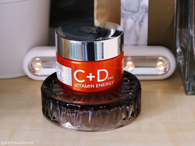 Lirene, C + D Pro Vitamin Energy, Nawilżający krem-żel rozświetlający
