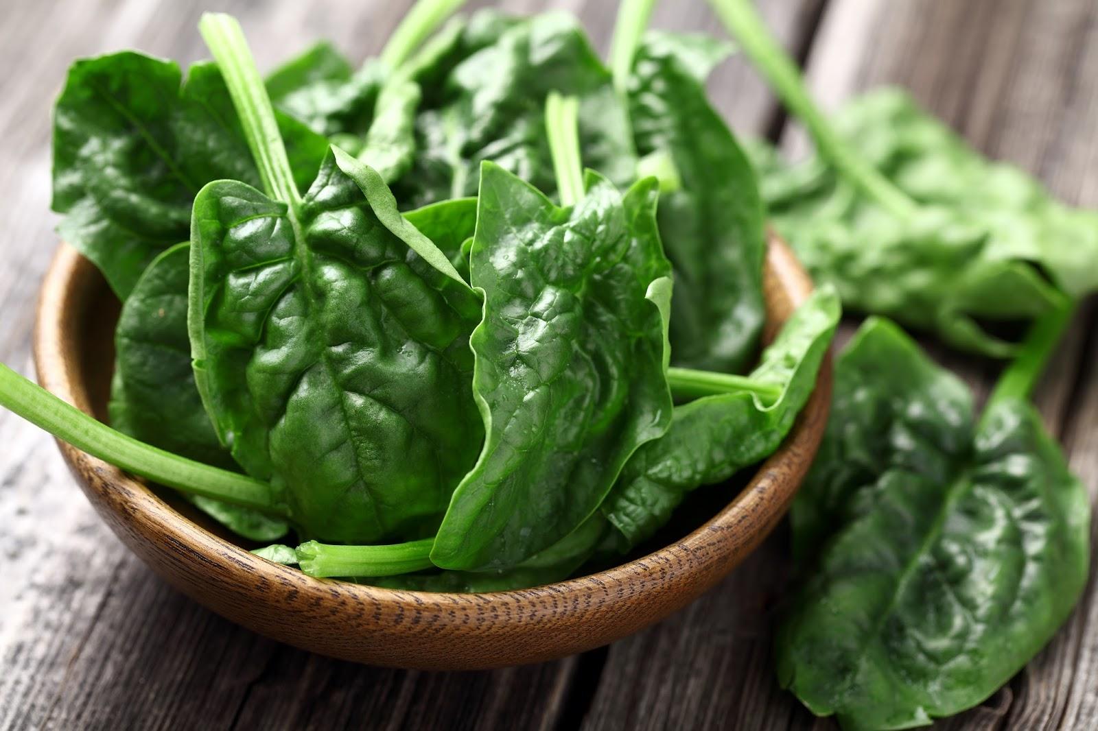 Едим шпинат с пользой для организма