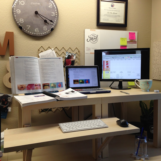 Ikea Hack : Standing Desk | Tate Does Things