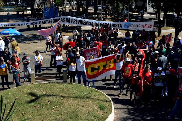Greve Geral Ato em Taguatinga  Foto Joaquim Dantas/Blog do Arretadinho
