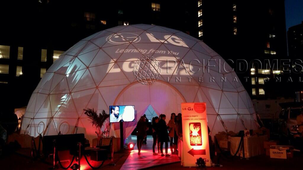Pacific Domes Event Tent for LG Inc. & Event Domes - Event Tents by Pacific Domes: Best Event Tents by ...