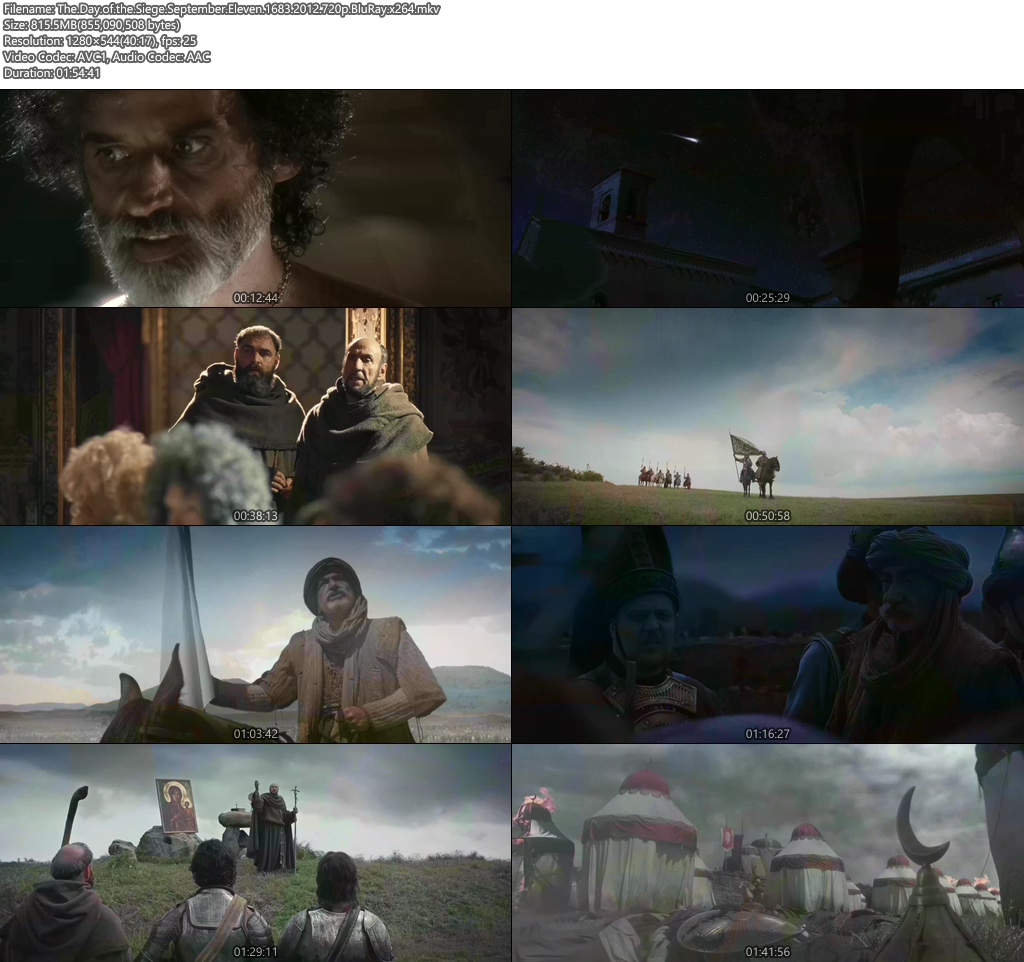 The Day of the Siege September Eleven 2012 720p BluRay x264   480p 300MB   100MB HEVC Screenshot