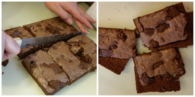 Nestle Tollhouse Baking Mix  Brownies with chocolate morsels