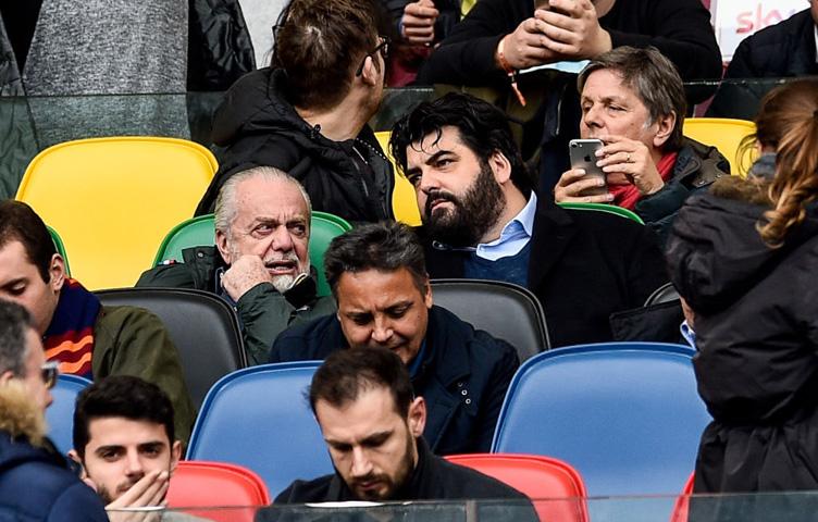 """De Laurentiis: """"Agnellijevi iz potaje kontrolišu situaciju"""""""