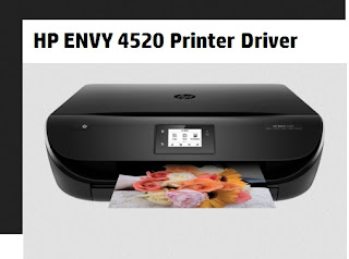 HP ENVY 4520 Printer Driver Download for Windows, Mac and Linux