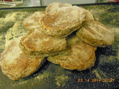 Easy Drop Sourdough English Muffins, whole grain goodness.