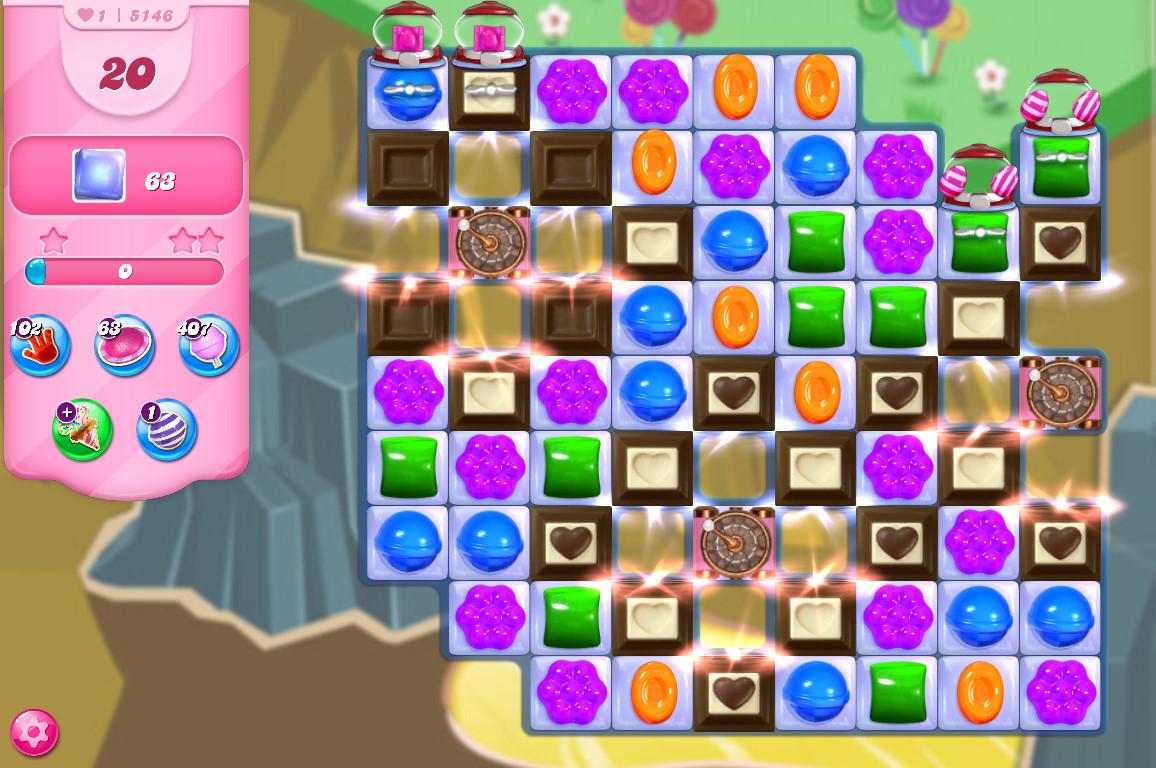 Candy Crush Saga level 5146