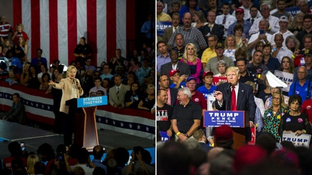 Clinton and Trump Poised for Historic Debate Battle
