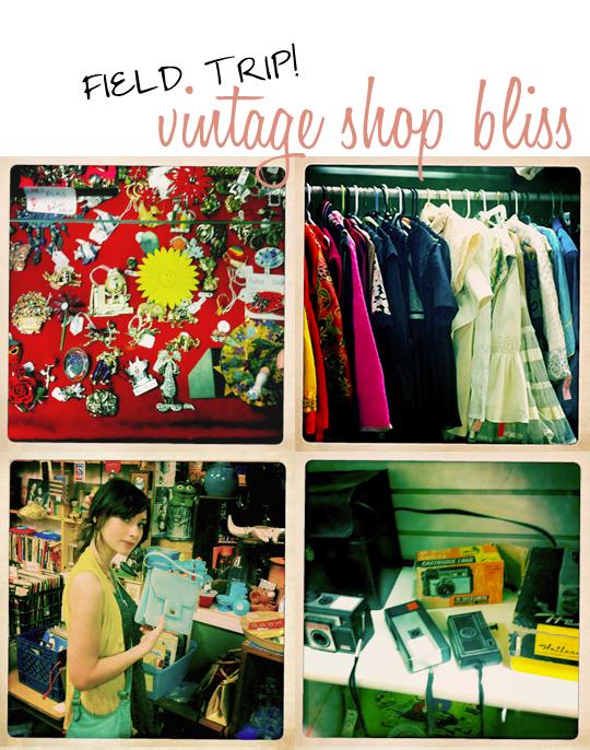 vintage shop trip