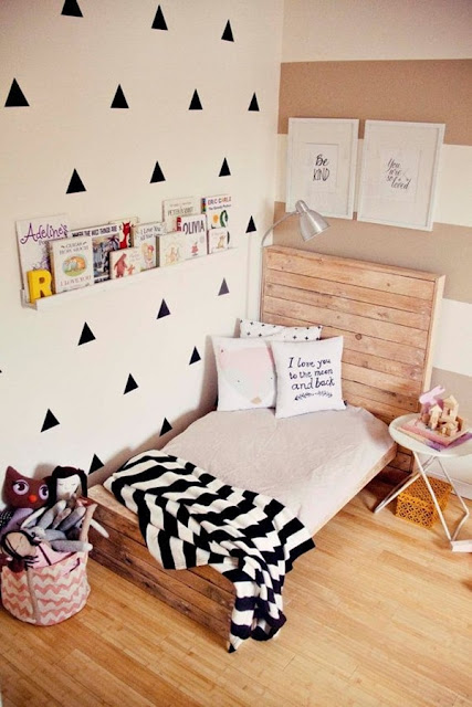 Pallets For Decorating Children's Rooms 2