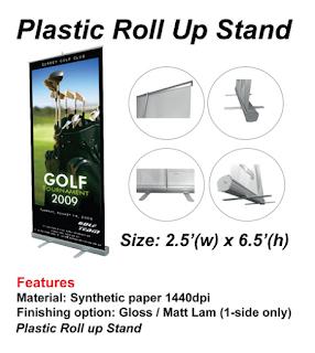 PLASTIC ROLLUP BANTING 2.5X6.5