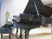 pictures of children playing piano