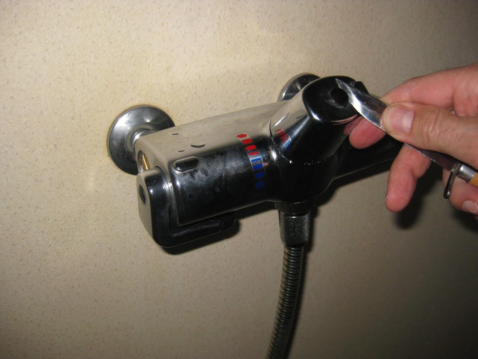 Changing the valve on Oras Optima shower faucet anno 1989 | Styrheim ...