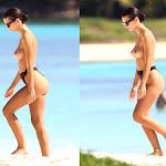 Emily Ratajkowski Pillada Haciendo Topless En Playas Mexicanas Foto 2
