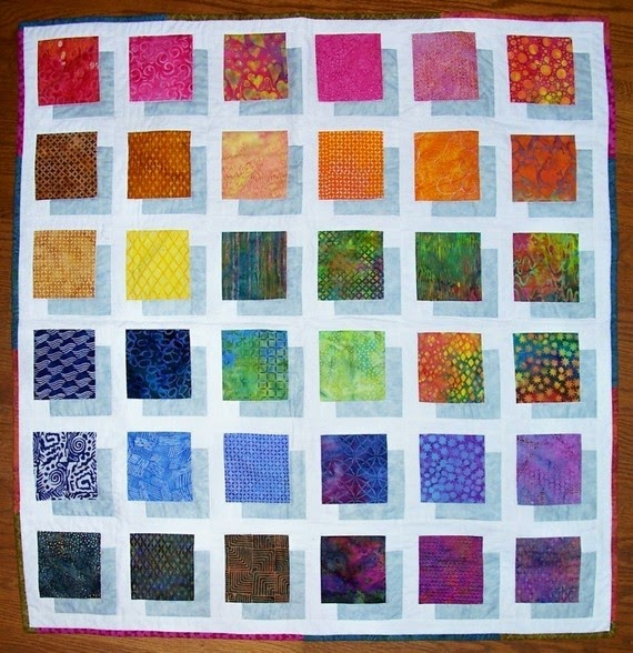 Sew In Love {with Fabric}: 11 Batik Quilts You'll Love