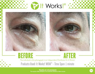 IT WORKS WOW BEFORE AFTER PIC