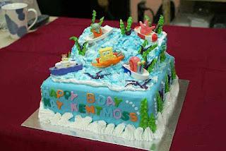 Ide unik dan kreatif kue ulang tahun pertama anak tema spongebob dan teman-teman