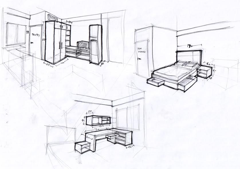 rancangan interior rumah
